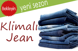 klimalı kot pantolon