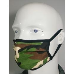 Virüs Koruyucu Yıkanabilir TSEK 599 Standarlarına Uygun Unisex Bez Maske