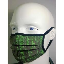 Virüs Koruyucu Yıkanabilir TSEK 599 Standarlarındaki Testleri Karşılayan Unisex Bez Maske